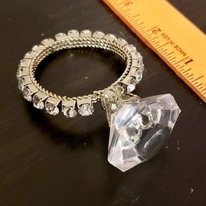 NWOT Engagement Ring Ornament